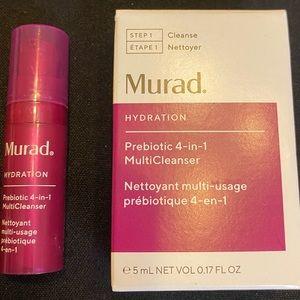 🦋6/$25Murad Prebiotic 4in1 Multi Cleanser New 5ml
